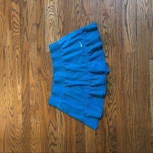 Super cute blue nike tennis skirt